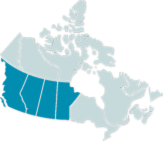 West Of Canada Map.About Us Connect West Marketing