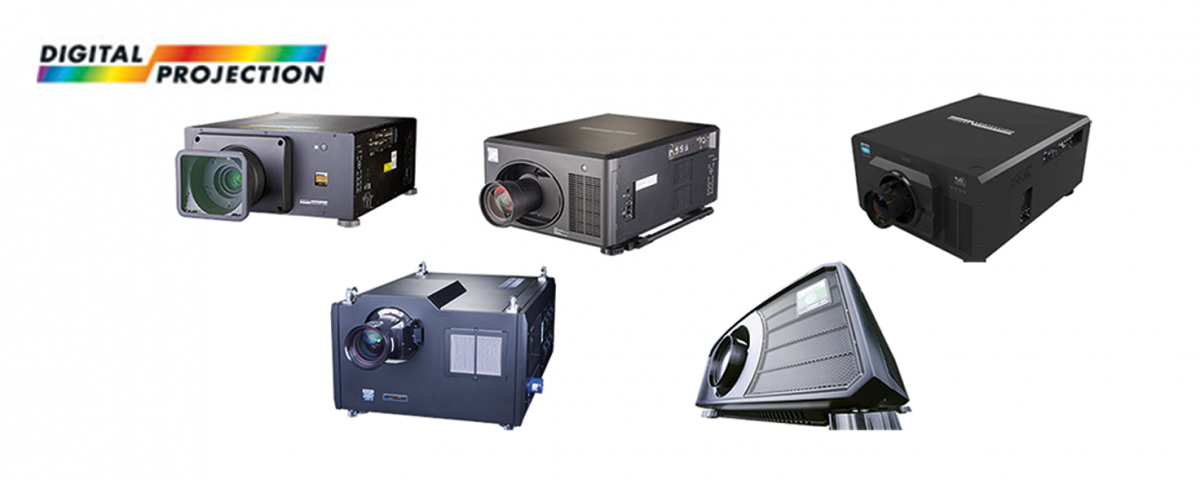5 new projectors from Digital Projection