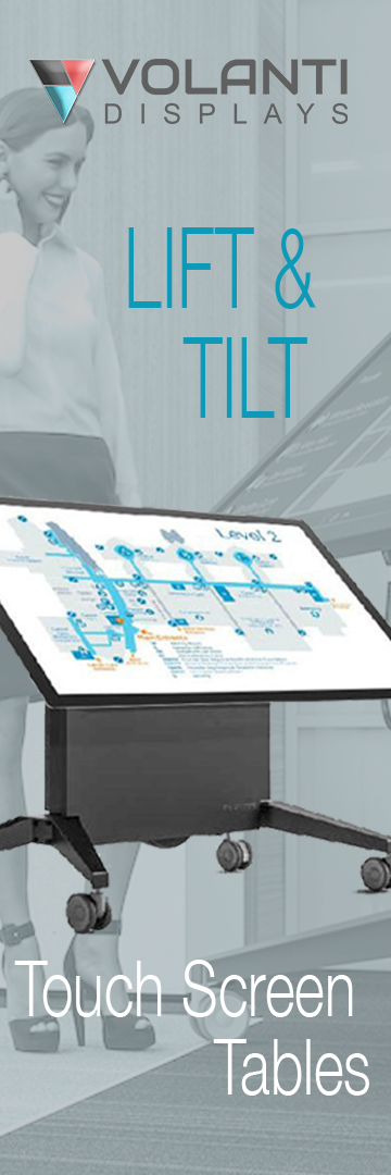 Volanti Lift and Tilt Table Display