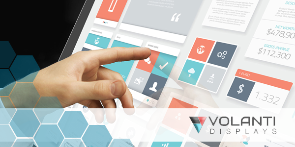 Volanti Touch Screen Displays