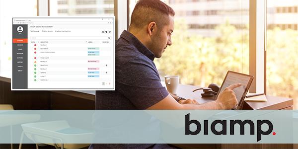 Biamp Web-Based Monitoring